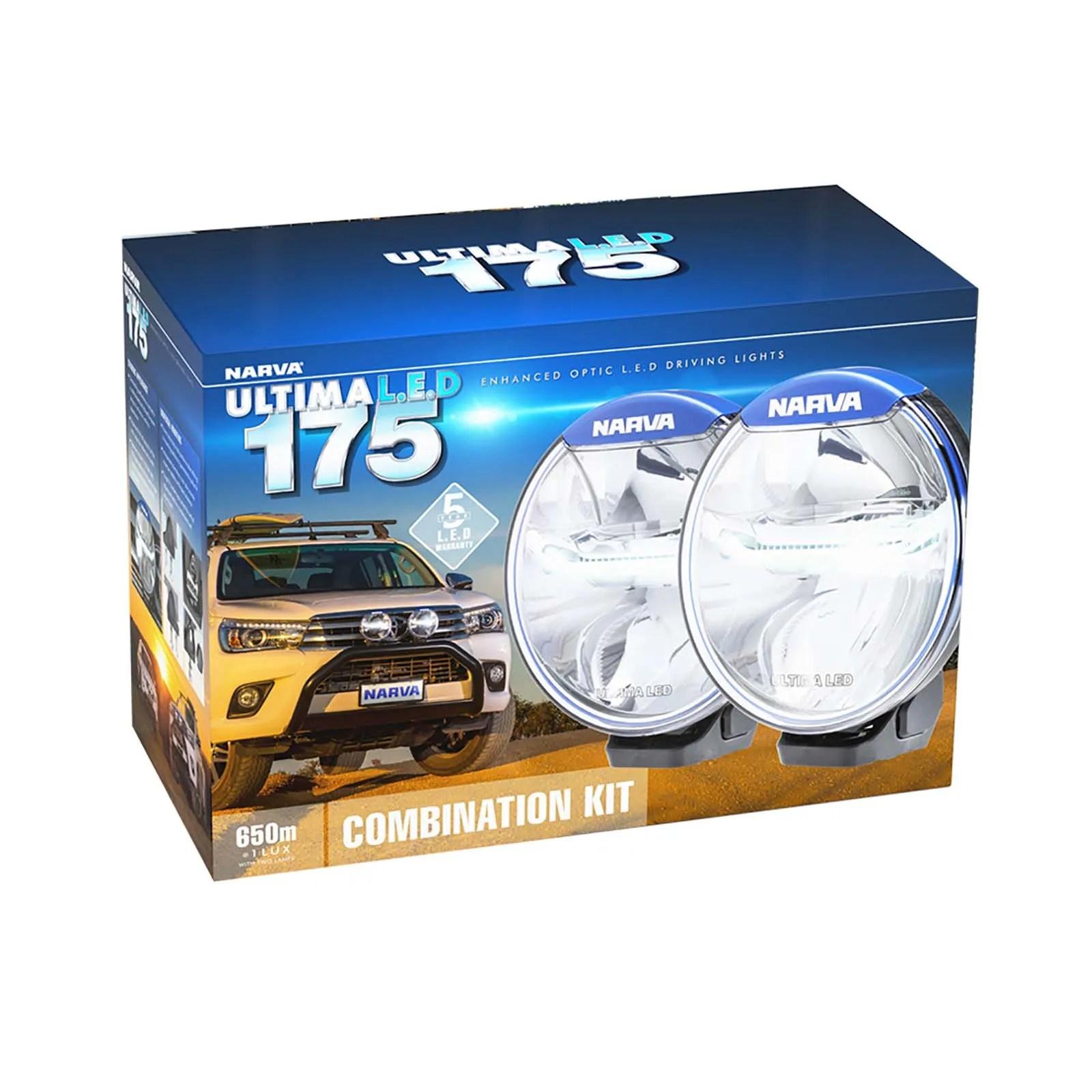 hight resolution of narva ultima 175 l e d combination driving light kit narva 175 spotlight wiring diagram
