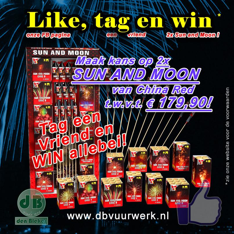 Like, tag en winactie 2 op FB
