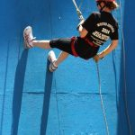 Abseiling at the WA DB Camp 2014