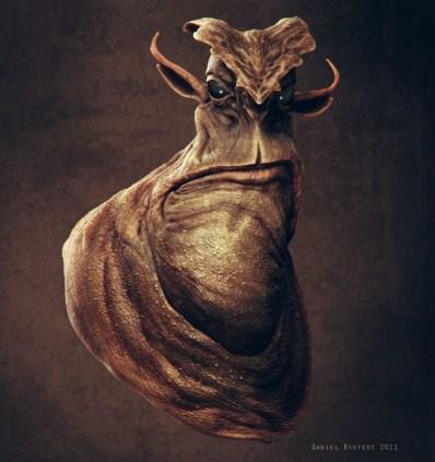 alien big chin front