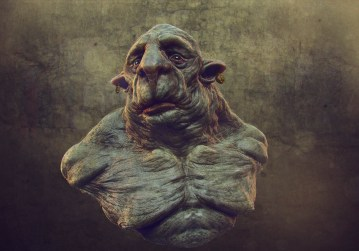 big old troll 3d render 1