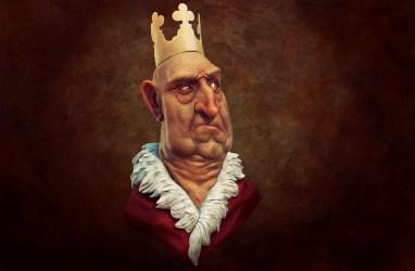 king 3d render 2