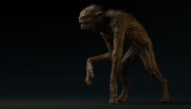 Grendel concept for the tv show Beowulf: return to the shieldlands