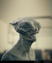 alien bust 2 clay