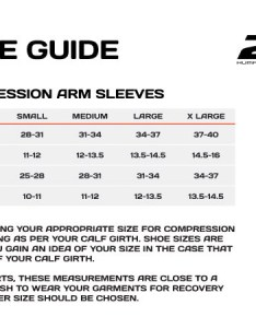 Size guide also xu compression arm sleeves ss sigma sports rh sigmasports