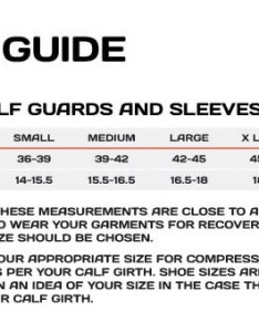 Size guide also xu elite mcs compression calf guards sigma sports rh sigmasports