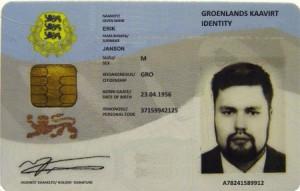 Erik Janson's Fake ID