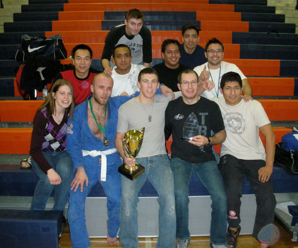 The team, including Ryan Beauregard, at the Copa Nova Tournament Jan 2010