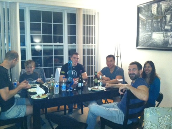 Ian among DC JJ friends