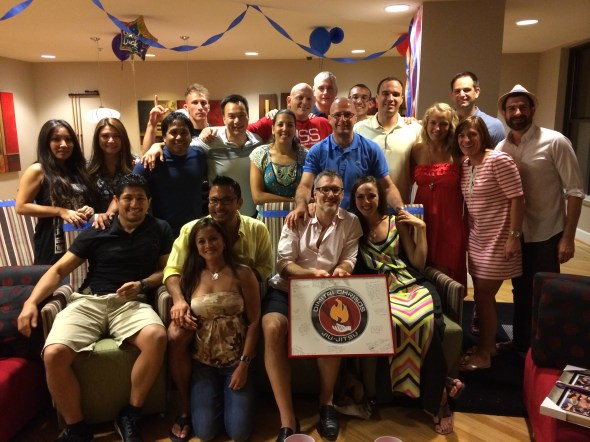 Brent & Steph's farewell 1