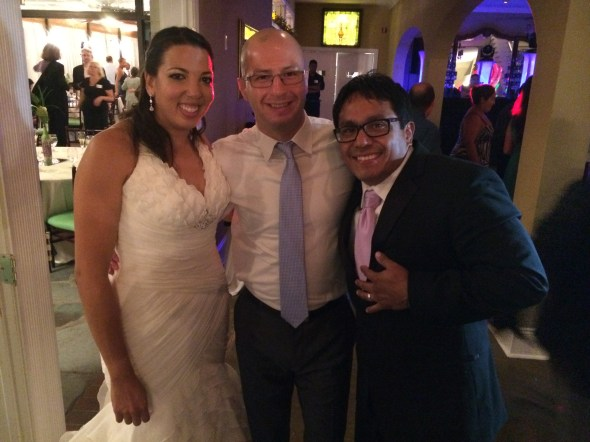 Kali and Fernado's wedding