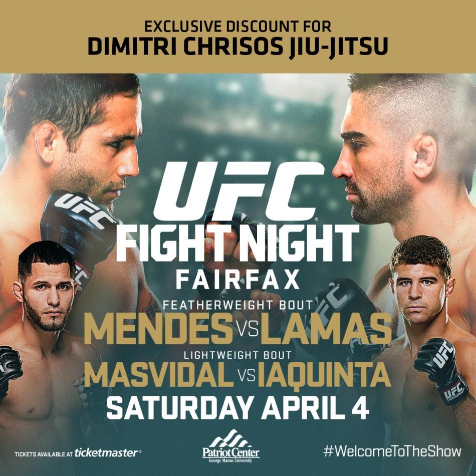 UFC Fight Night Poster