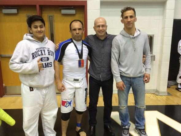 AJ, Joaquin, Dimitri and Nic (Lto R)