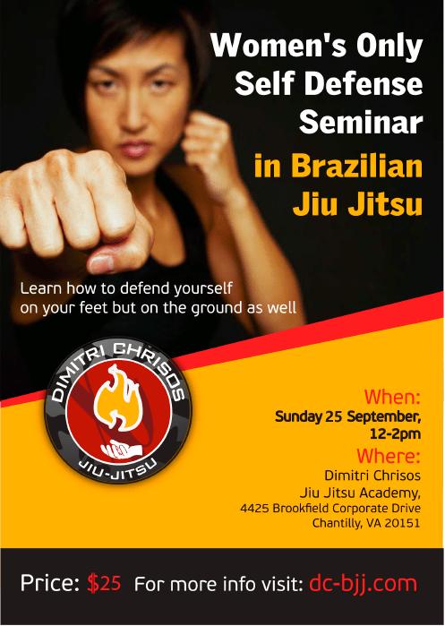 Women's self defense seminar 25 Sep 2016