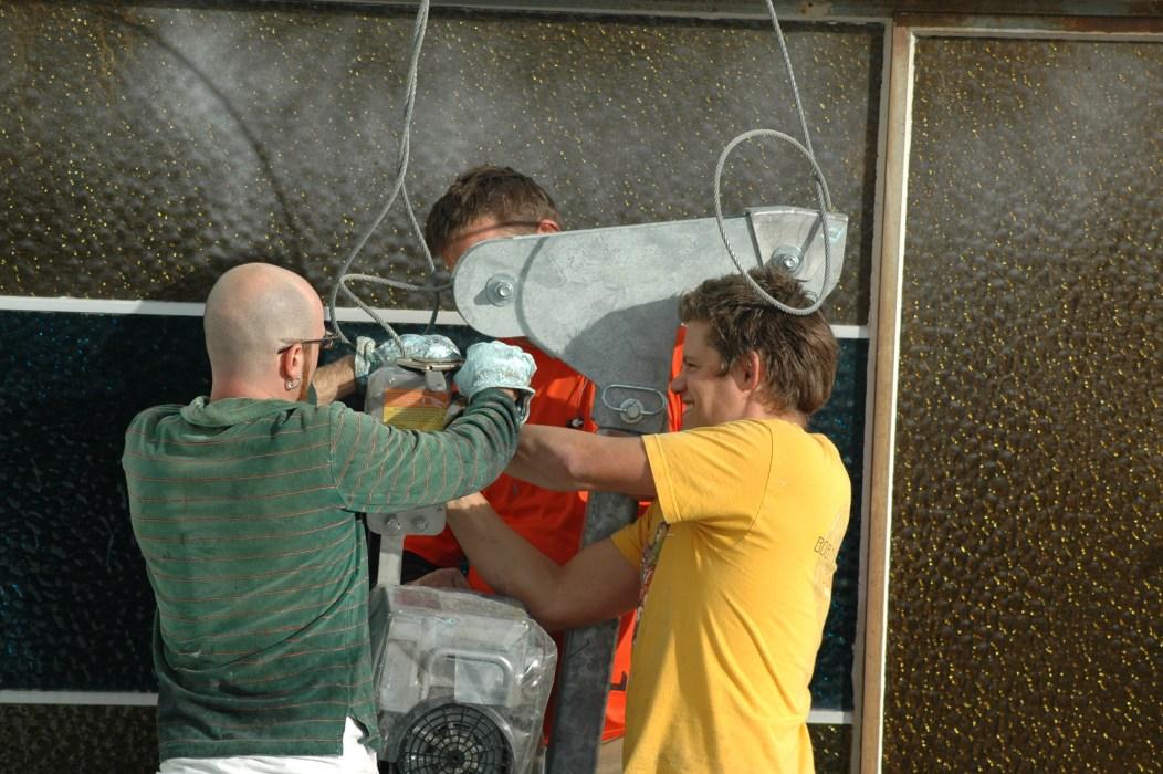 Wrestling scaffolding 1 DSC_0123 @ Mike Houck