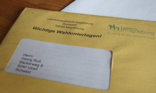 Wie beantragt, als Auslands- und Passdeutscher.