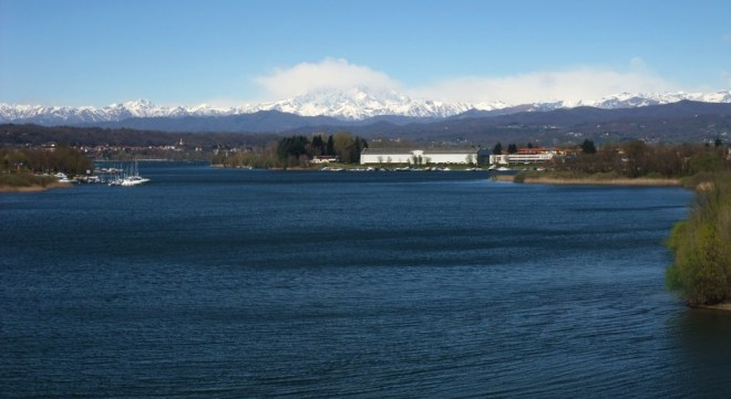 Südausfluss des Lago.
