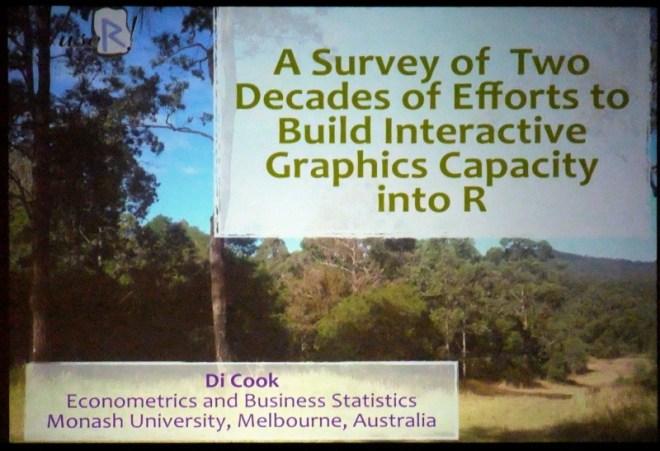 Schon fast historischer Vortrag, bis zurück in die 1990er.
