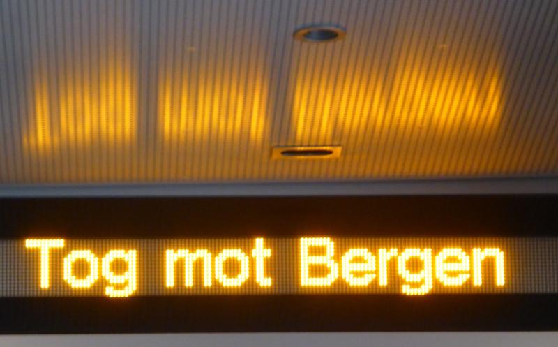 Ortswechsel nach Bergen