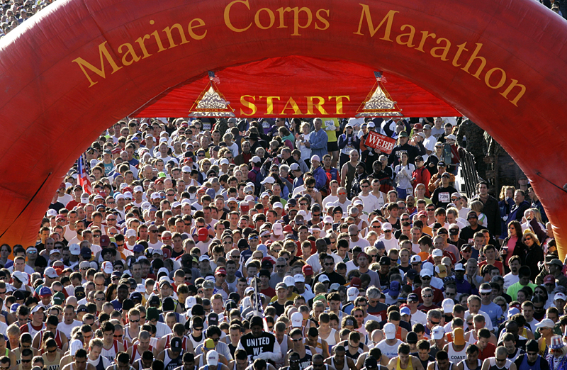 New for 2018: Watch the Marine Corps Marathon From 31 Stories Up!