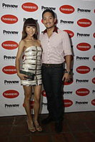 Christina Frasco and Liloan Mayor Duke Frasco