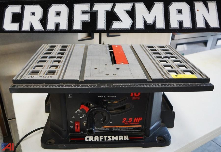 Craftsman 10 Contractor Table Saw