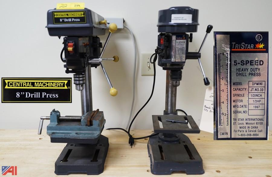 Central Machinery Drill Press Review