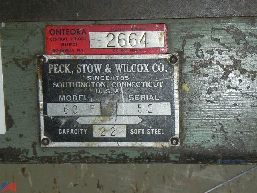 Peck Stow And Wilcox Bar Folder