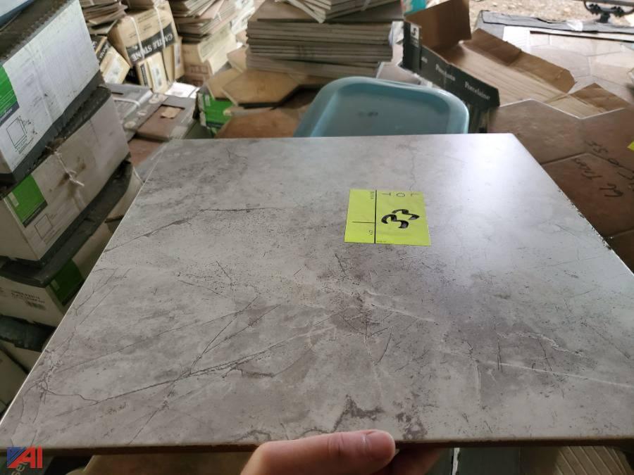 272 sq ft of ceramic tile