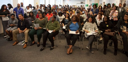 town hall meetings meeting dynamic creating union dc halls administration brooklyn came force members human resources during