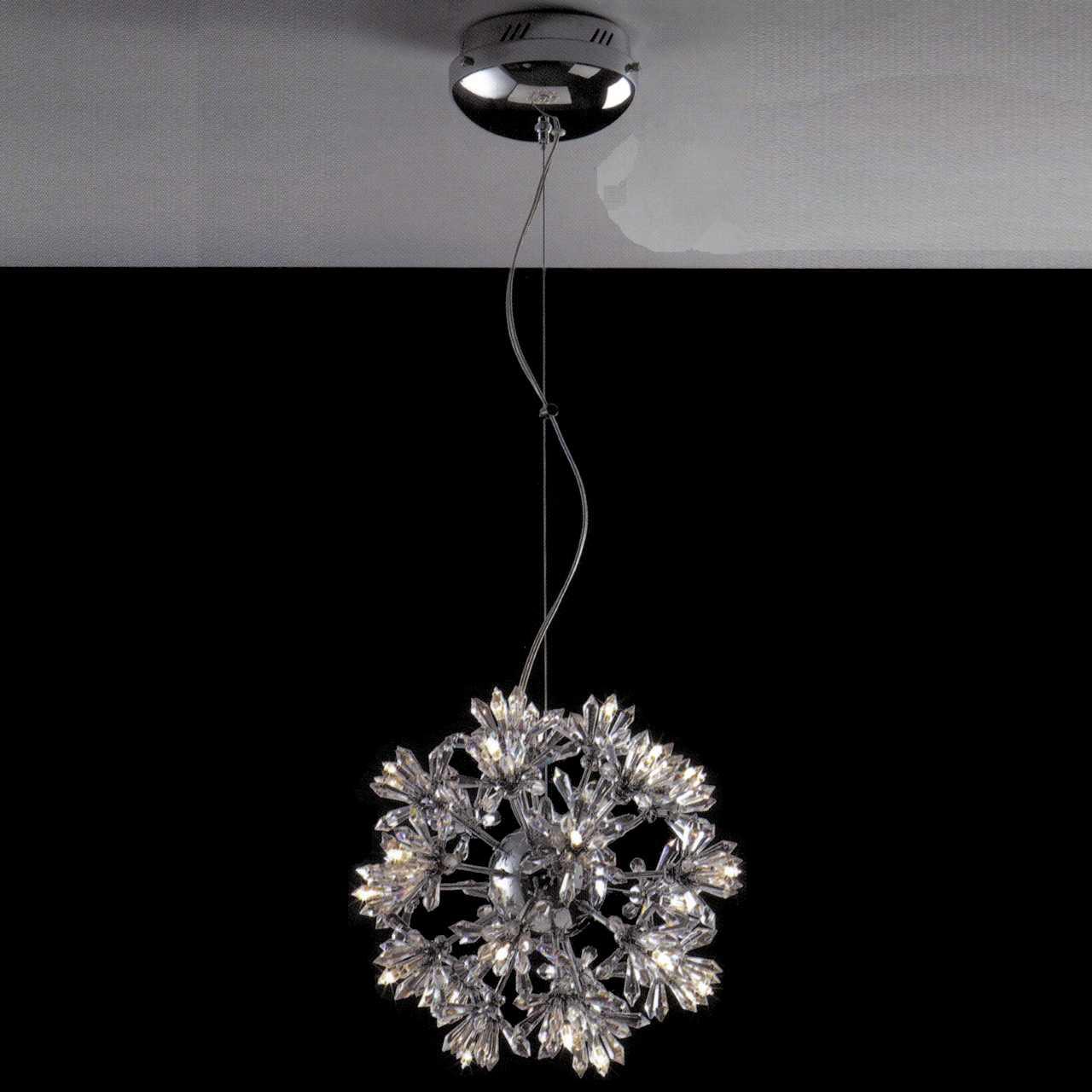 Mini Crystal Pendant Lights