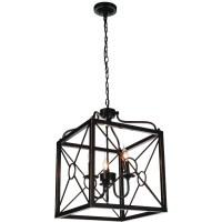 "Brizzo Lighting Stores. 23"" Lantern Contemporary Black ..."