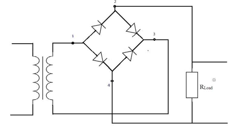 Full Wave Bridge Rectifier Working and Application