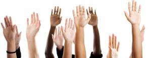 Waving hands