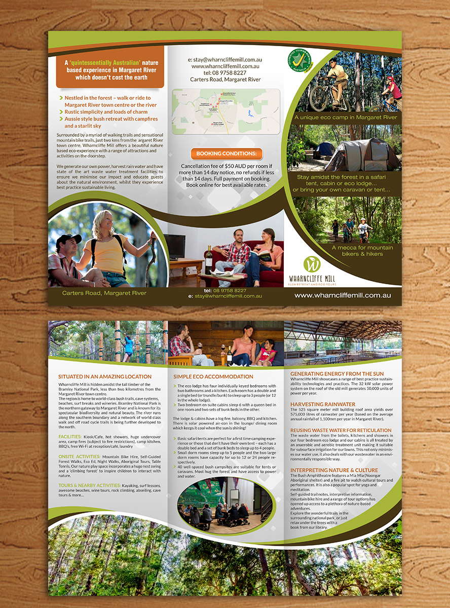 Personable Bold Town Brochure Design For Synergise Pty