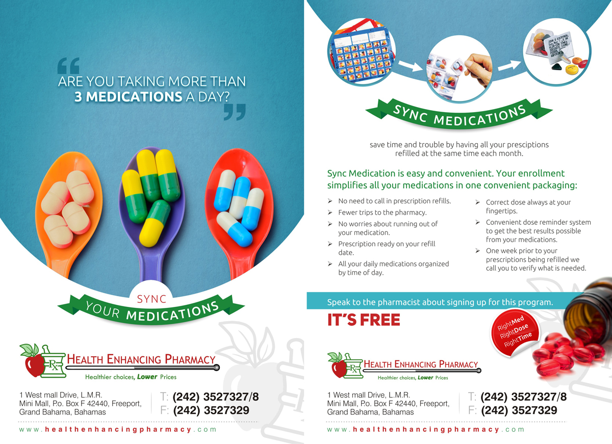 Professional Upmarket Flyer Design For Health Enhancing