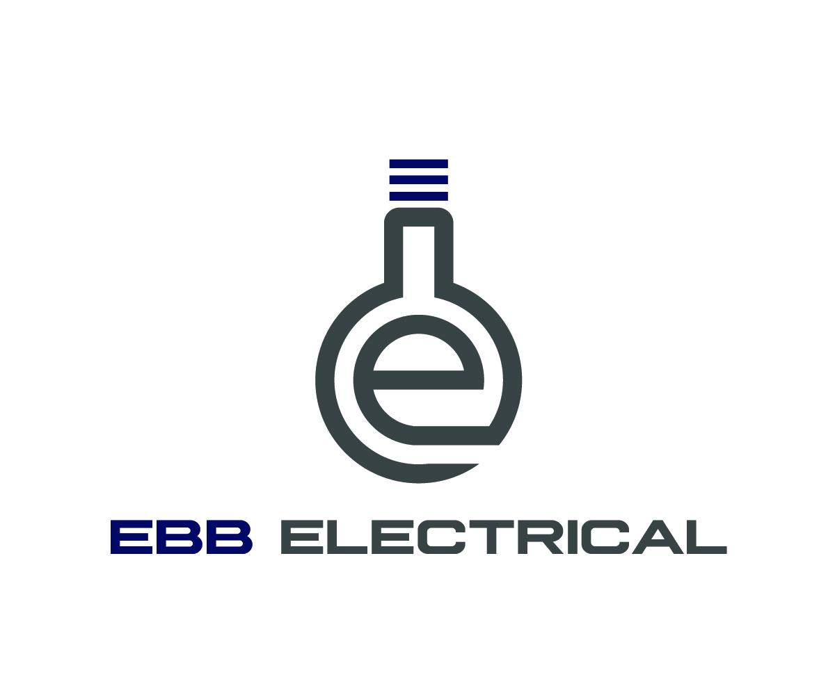 Modern Professional Electrical Logo Design For Ebb