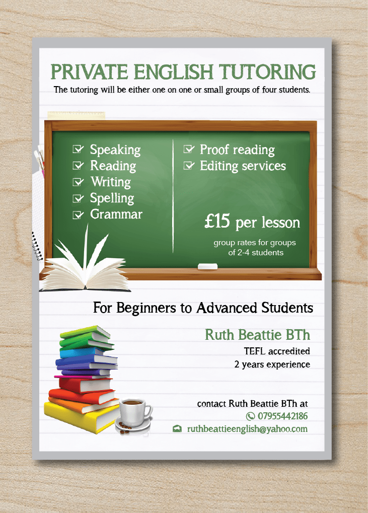 Bold Serious Tutoring Flyer Design For A Company By