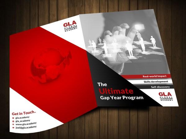 Modern Bold Leadership Brochure Design Company