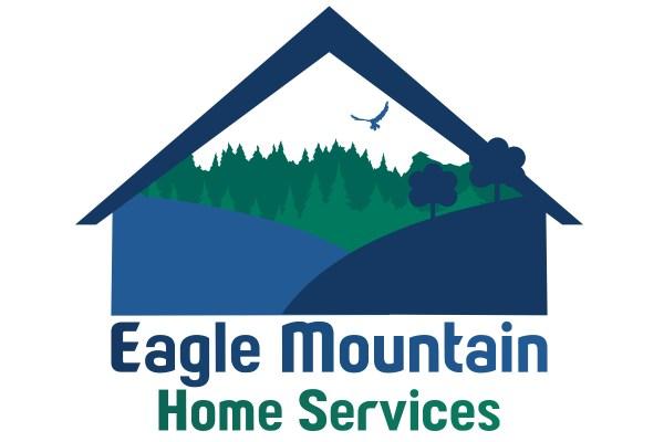 Modern Upmarket Town Logo Design Eagle Mountain Home