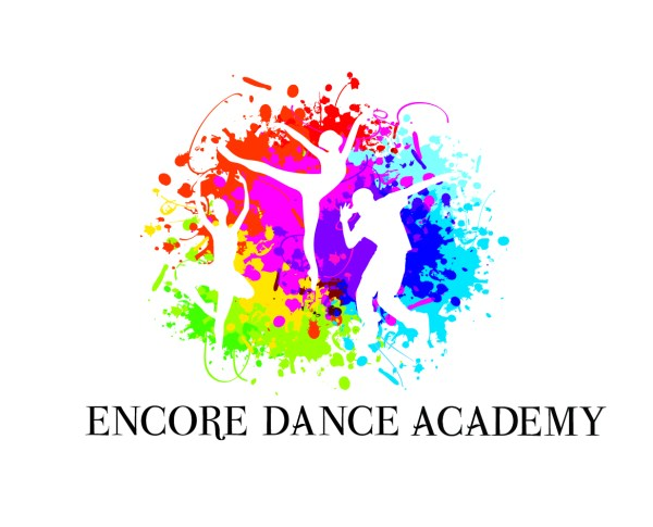 Elegant Colorful Dance Studio Logo Design Encore Academy Autumn9232002