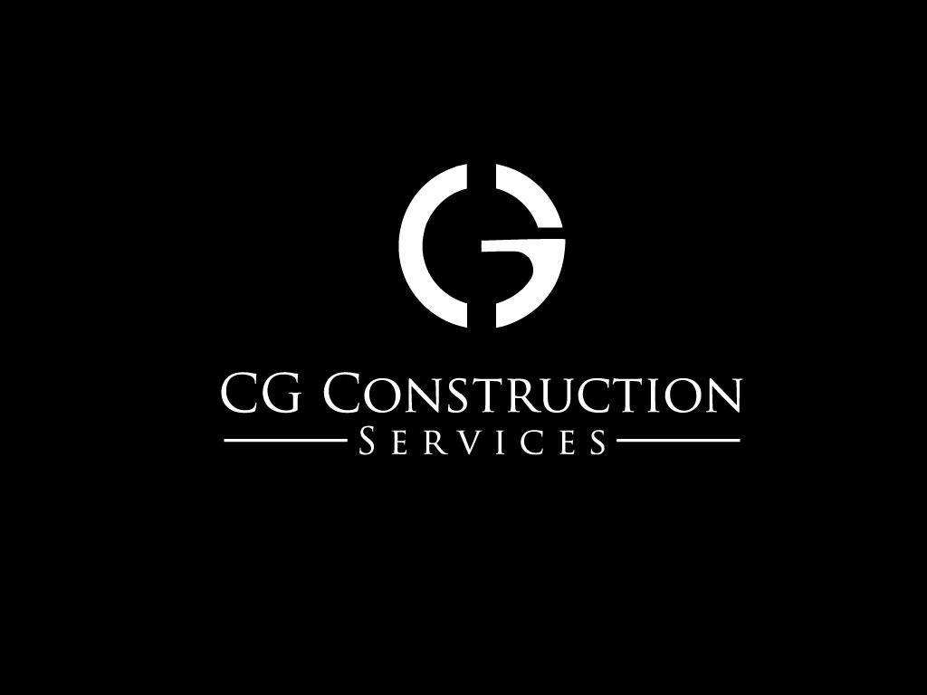 Bold Masculine Construction Logo Design for CG