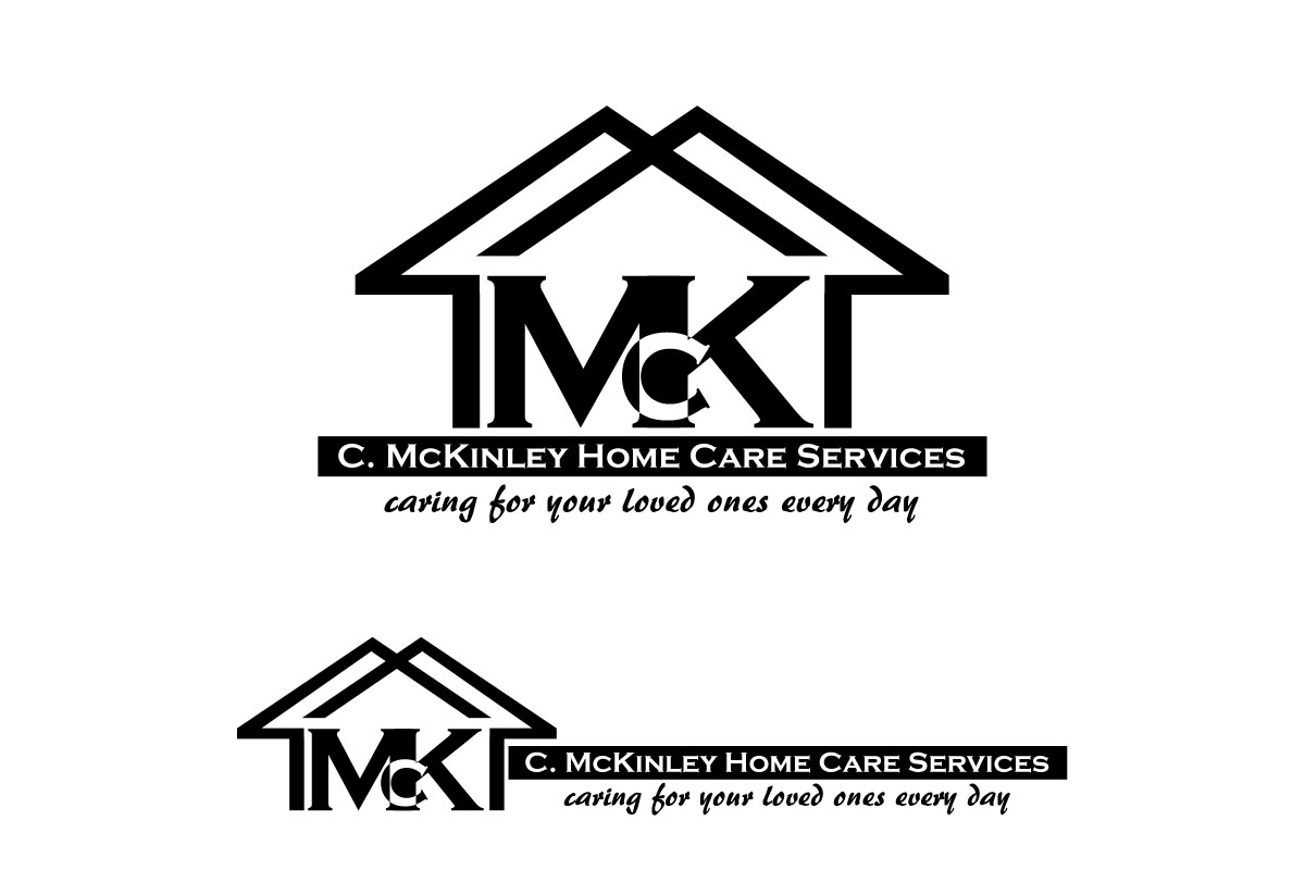 It Company Logo Design for C. McKinley Home Care Services