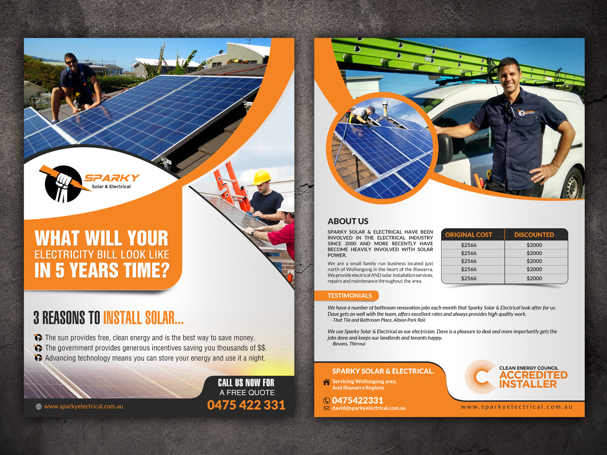 Modern, Professional, It Company Flyer Design for a