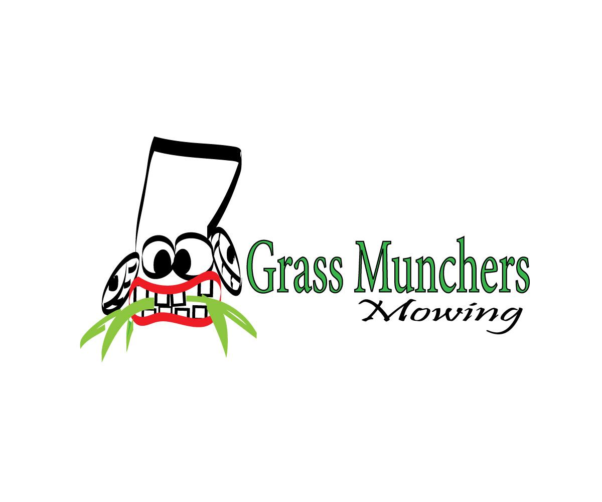 Elegant Playful Business Logo Design For Grass Munchers