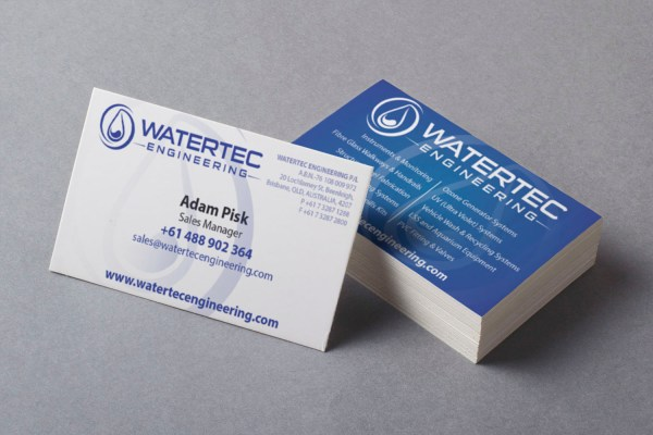 Modern Professional Mechanical Engineering Business Card