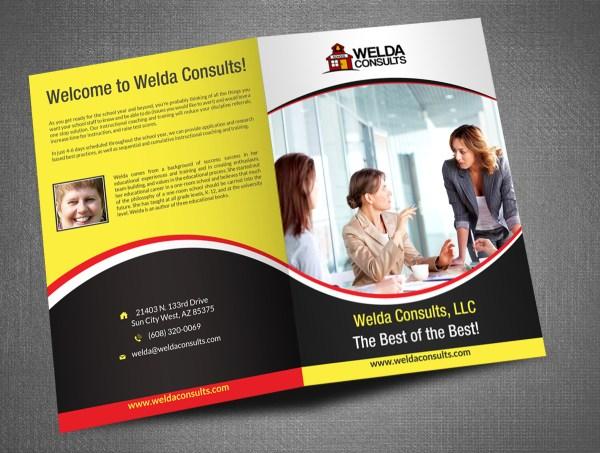 Professional Bold Education Brochure Design