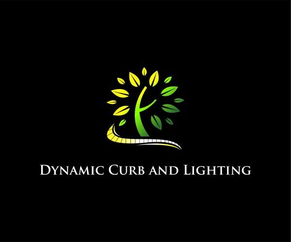 bold landscape logo design