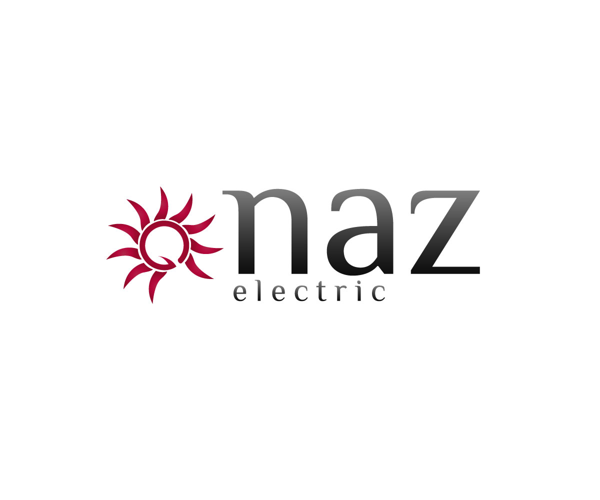 Elegant Serious Electrical Logo Design For Naz Electric
