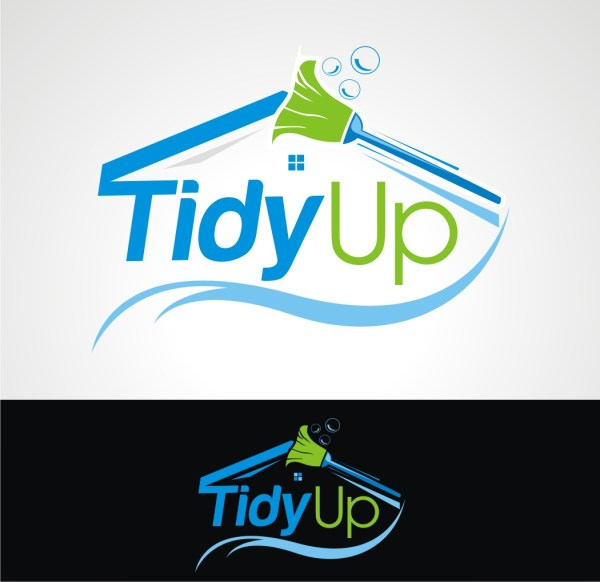 Bold Logo Design Cleaning Service